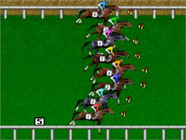 In game image of Super Derby on the Arcade.