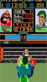 In game image of Super Punch-Out!! on the Arcade.