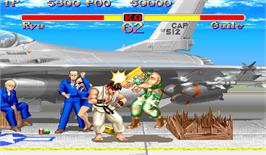 In game image of Super Street Fighter II: The New Challengers on the Arcade.