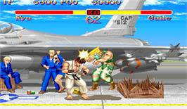 In game image of Super Street Fighter II: The Tournament Battle on the Arcade.