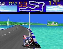 In game image of Suzuka 8 Hours 2 on the Arcade.