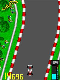 In game image of Tail to Nose - Great Championship on the Arcade.