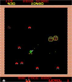 In game image of Tazz-Mania on the Arcade.