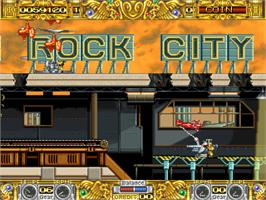 In game image of The Great Ragtime Show on the Arcade.