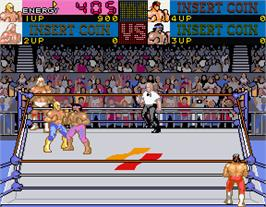 In game image of The Main Event on the Arcade.