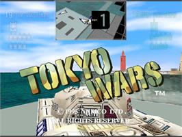 In game image of Tokyo Wars on the Arcade.