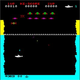 In game image of Tomahawk 777 on the Arcade.