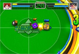 In game image of Top Blade V on the Arcade.