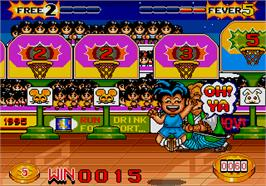 In game image of Top Shooter on the Arcade.