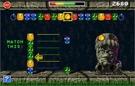 In game image of Touchmaster 5000 on the Arcade.