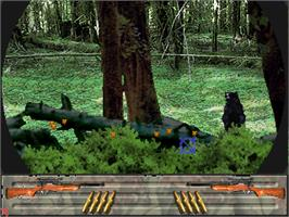 In game image of Trophy Hunting - Bear & Moose V1.0 on the Arcade.