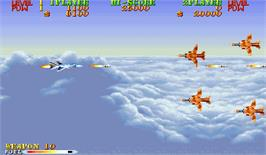 In game image of U.S. Navy on the Arcade.