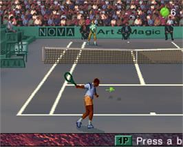 In game image of Ultimate Tennis on the Arcade.