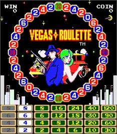 In game image of Vegas Roulette on the Arcade.