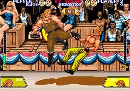 In game image of Violence Fight on the Arcade.