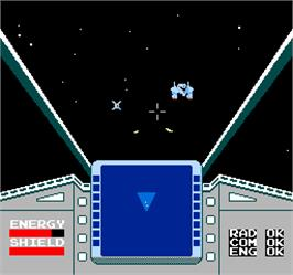In game image of Vs. Star Luster on the Arcade.