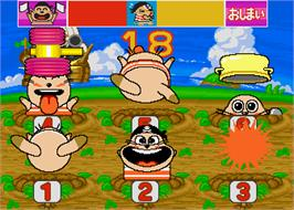 In game image of Waiwai Animal Land Jr. on the Arcade.