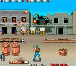 In game image of West Story on the Arcade.