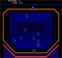 In game image of Wiz Warz on the Arcade.