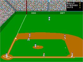 In game image of World Series: The Season on the Arcade.