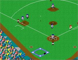 In game image of World Stadium on the Arcade.