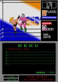 wrestle war arcade