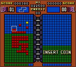 In game image of Xor World on the Arcade.