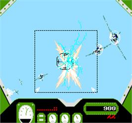 In game image of Zero Target on the Arcade.