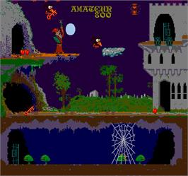 In game image of Zwackery on the Arcade.