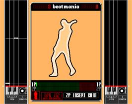 In game image of beatmania on the Arcade.