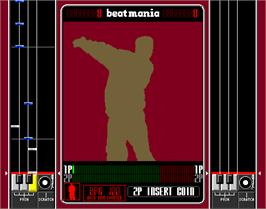 In game image of beatmania 2nd MIX on the Arcade.