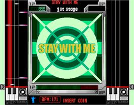In game image of beatmania CORE REMIX on the Arcade.