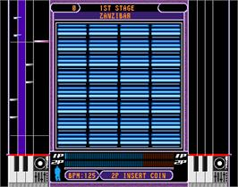 In game image of beatmania complete MIX 2 on the Arcade.