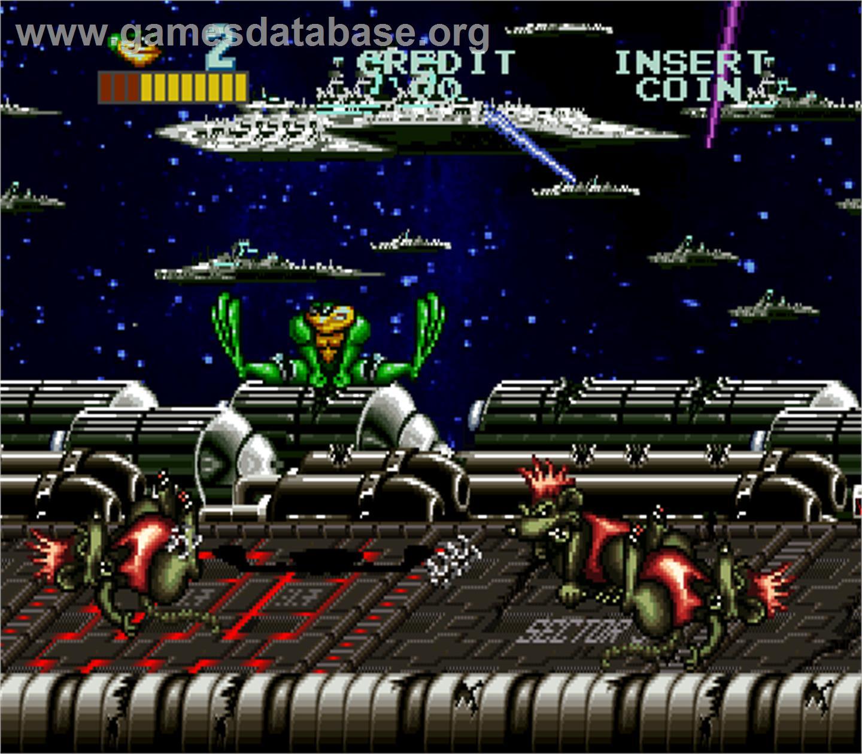Эмулятор mame и настройка на примере the battletoads arcade game