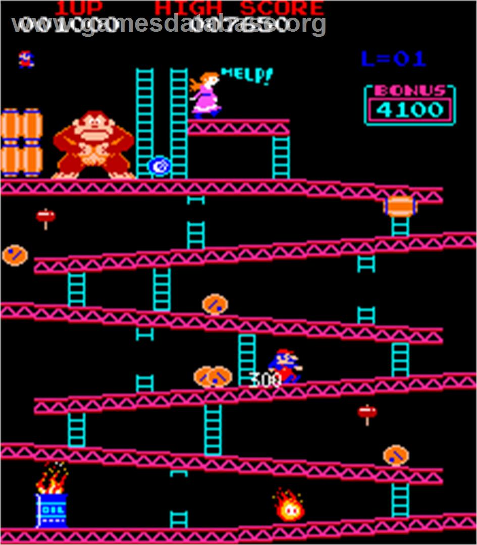 Donkey Kong Foundry - Arcade - Artwork - In Game