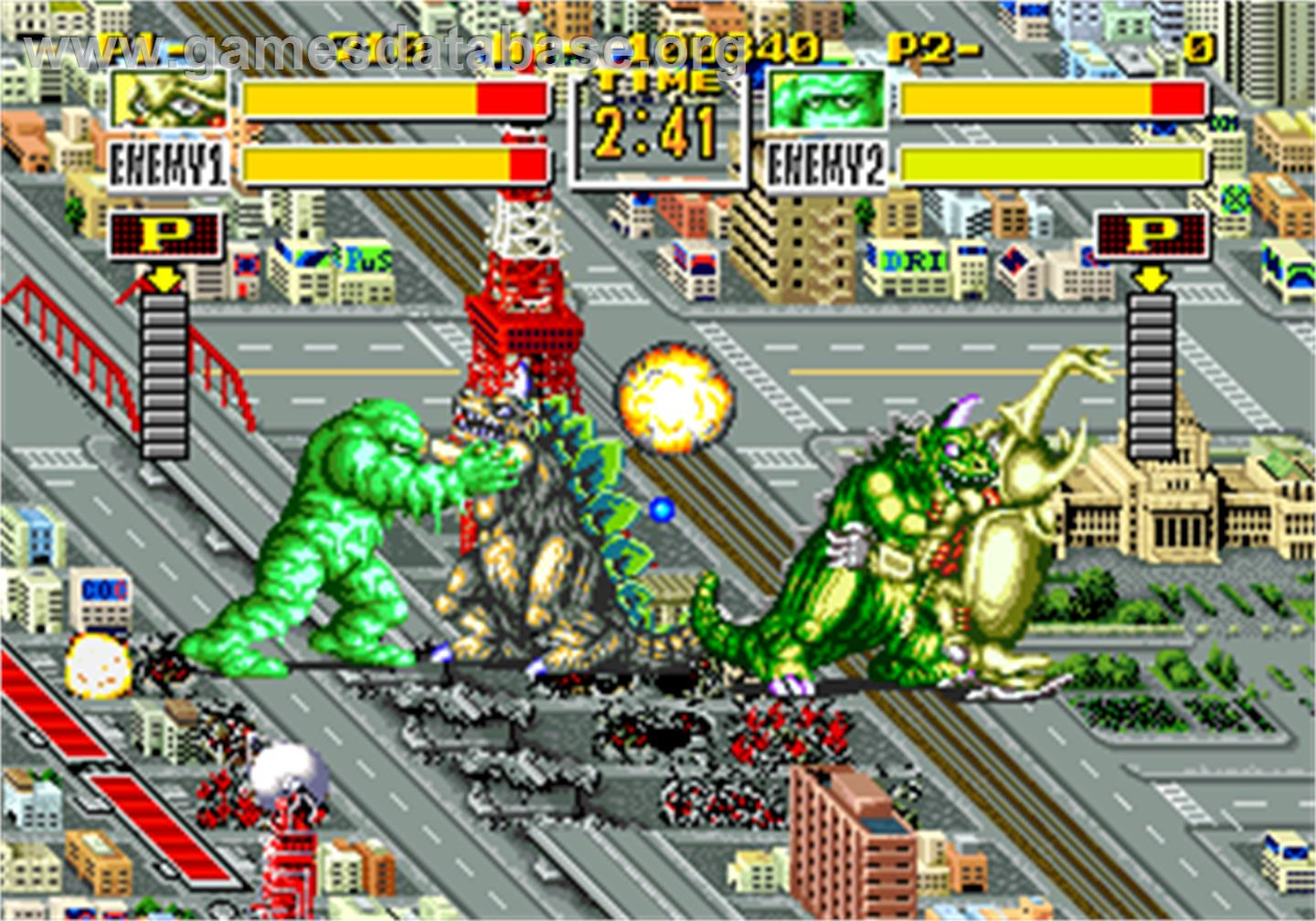 King Of The Monsters Arcade Games Database