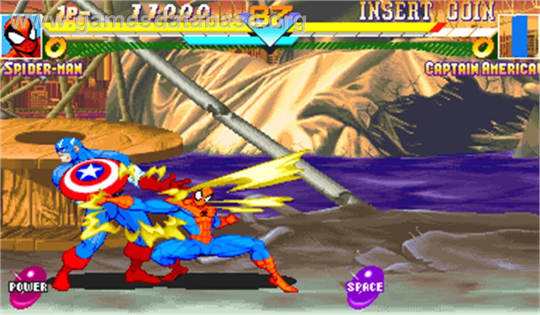 Marvel Super Heroes - Arcade - Games Database