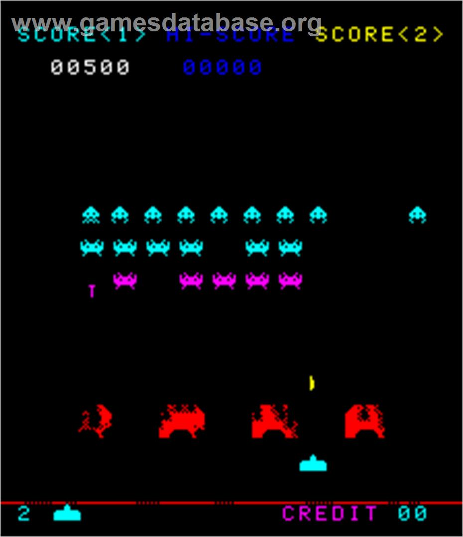 Space invaders arcade games database for Space invaders