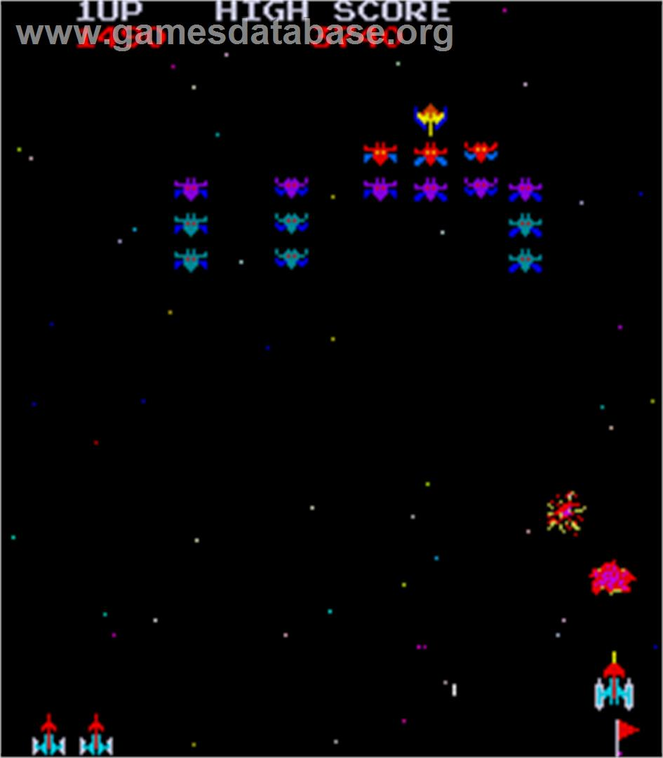 Space Invaders Galactica - Arcade - Artwork - In Game