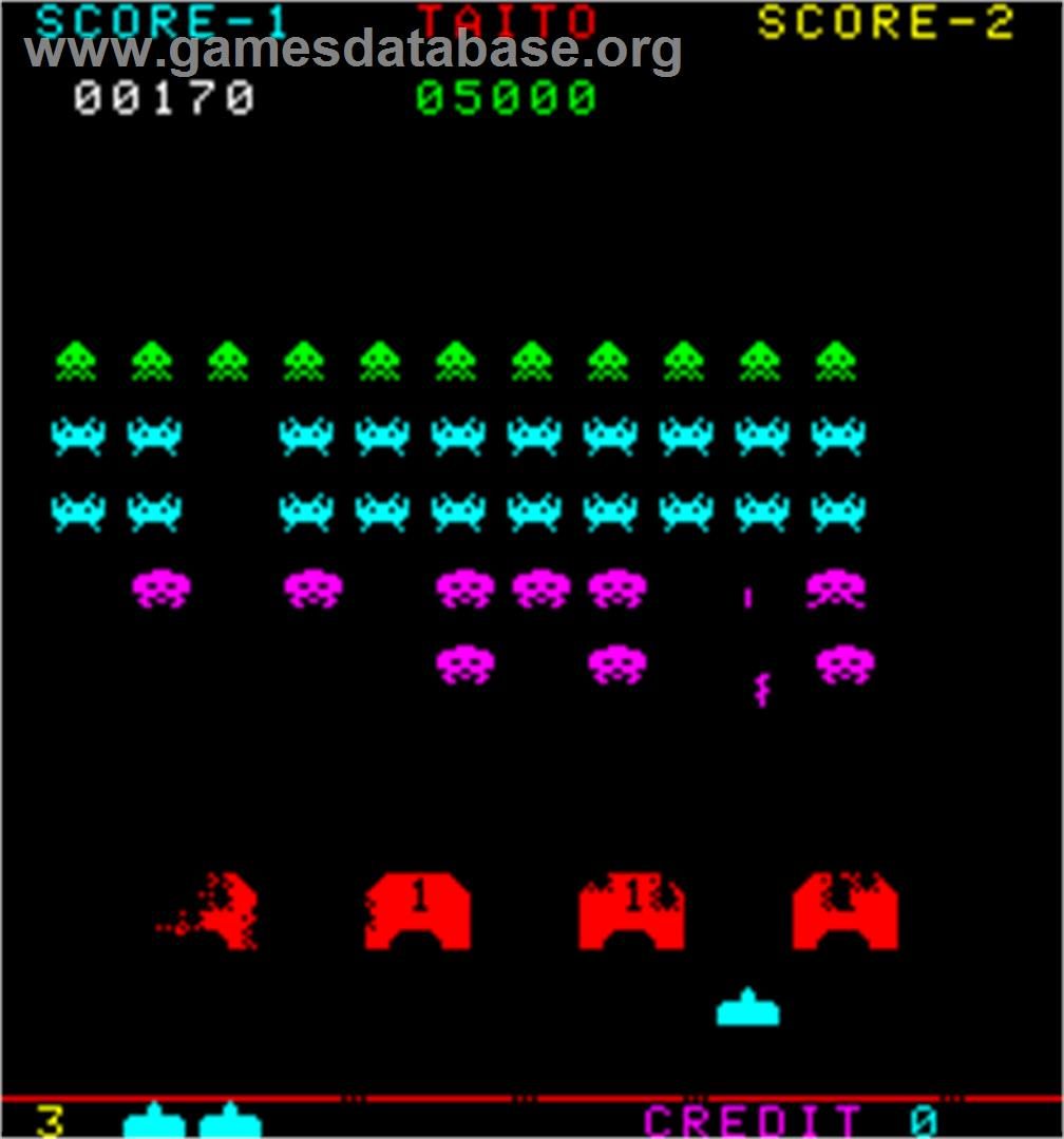atari space invaders game