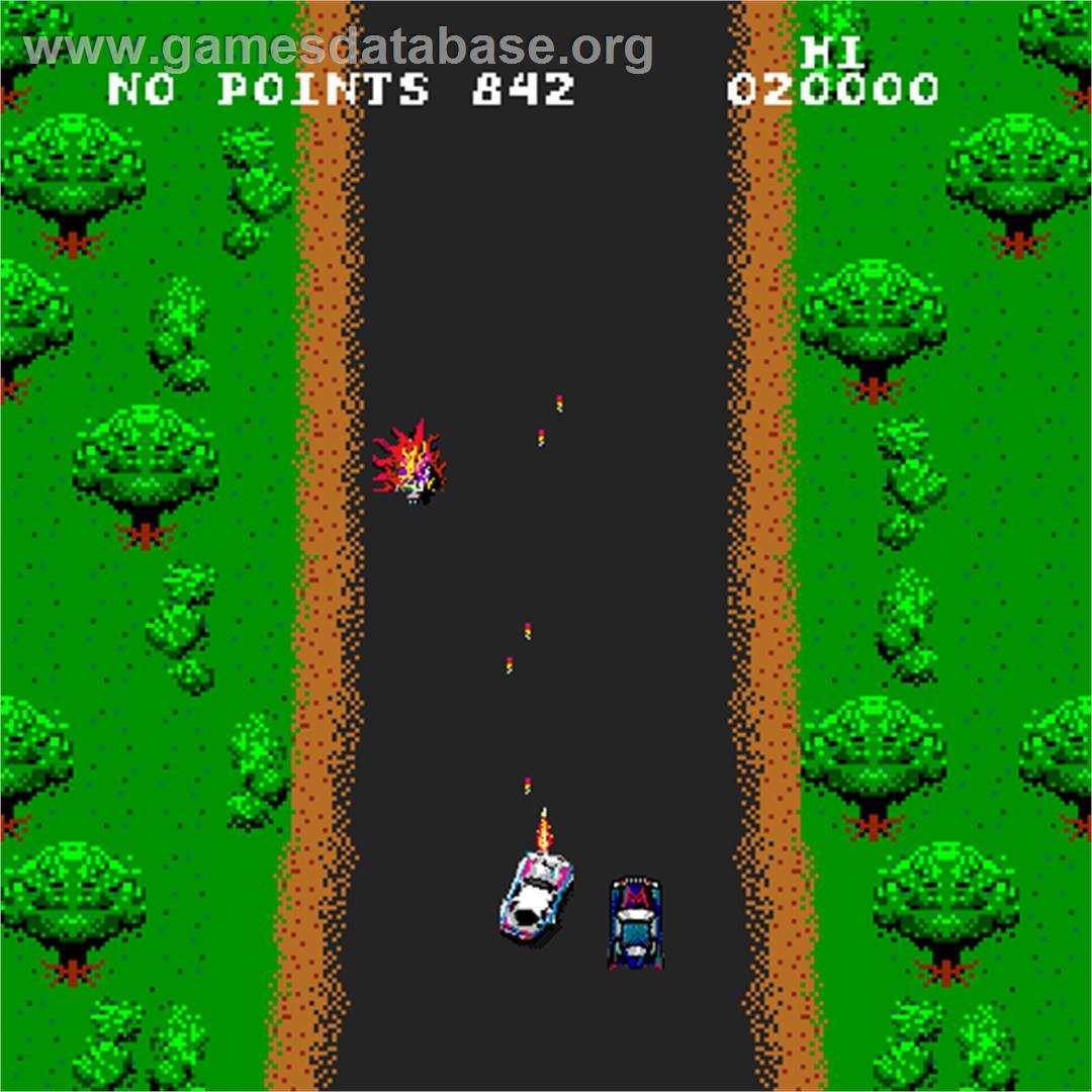 spy hunter - arcade