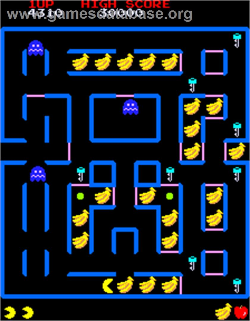pac man Pac-man museum includes 9 classic pac-man arcade games, including the original pac-man game that spread pac-man fever around the world in the 1980s the origins of the cartoon, pac-man and the ghostly adventures, are collected here for your enjoyment.