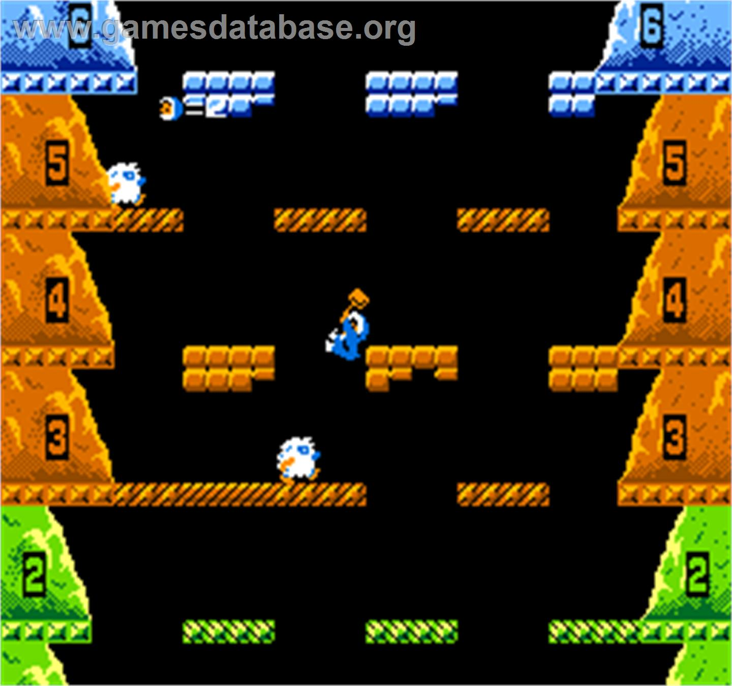 Vs. Ice Climber - Arcade - Artwork - In Game