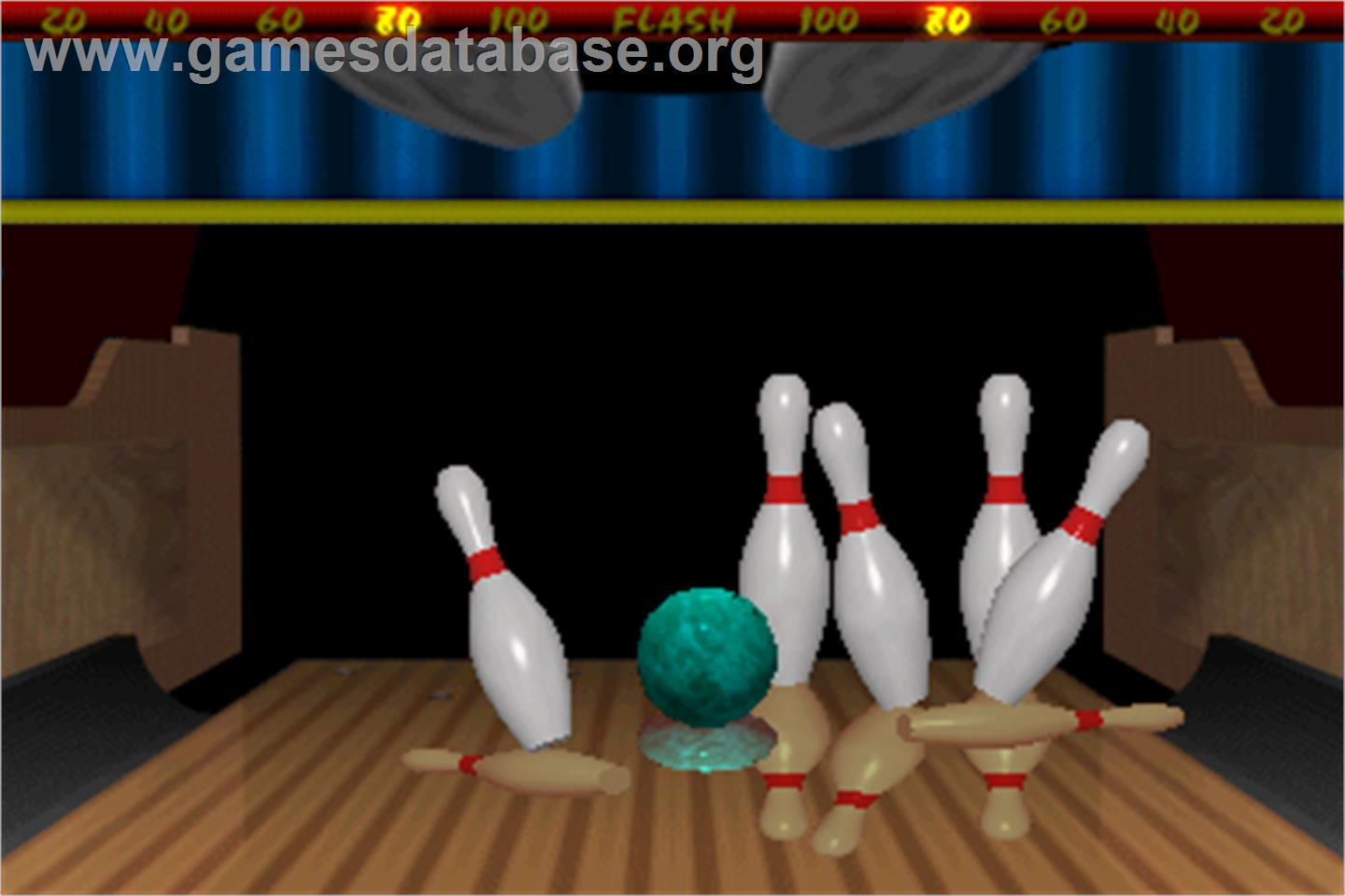 World Class Bowling Deluxe - Arcade - Artwork - In Game
