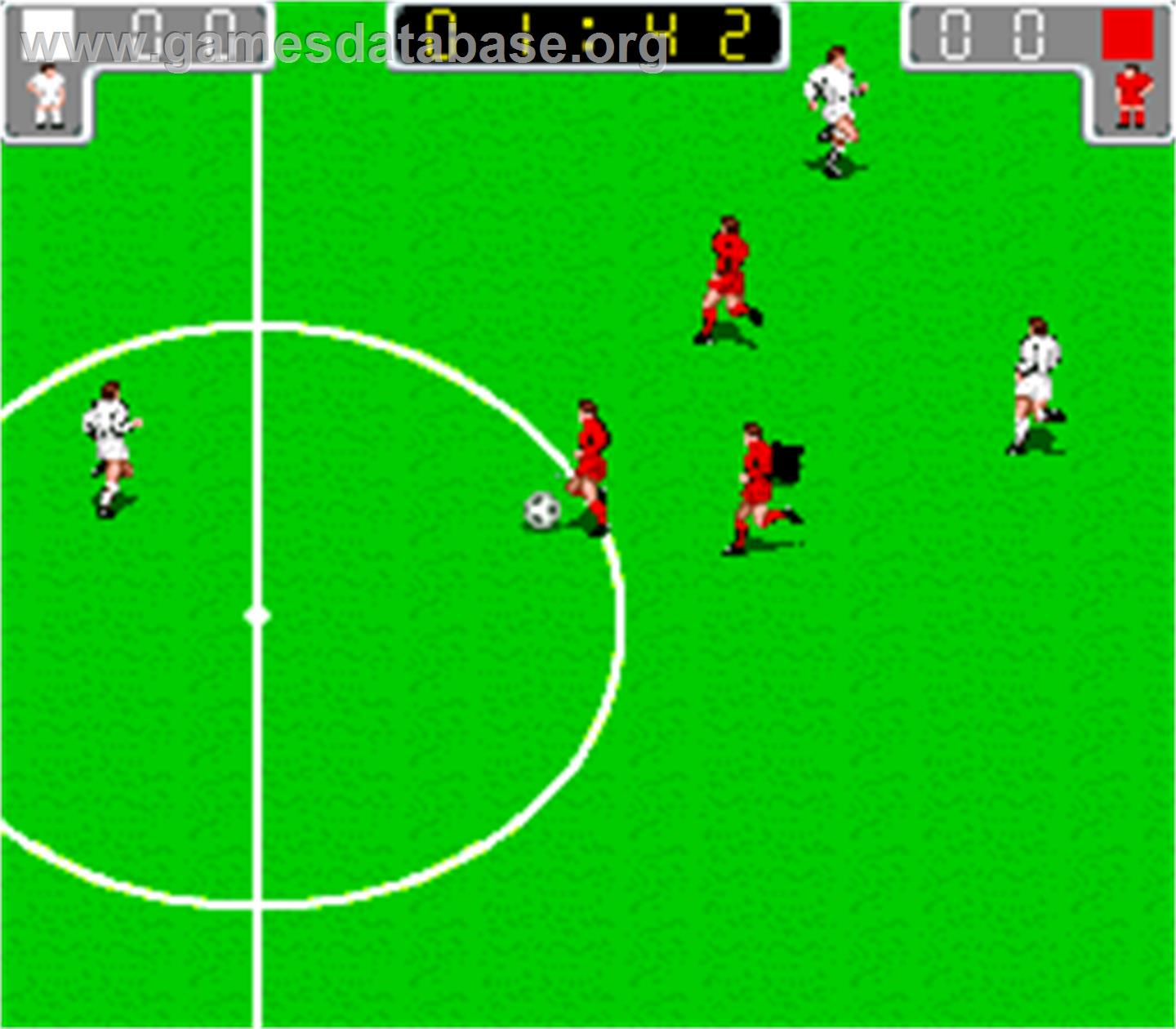 Worldcup '90 - Arcade - Artwork - In Game