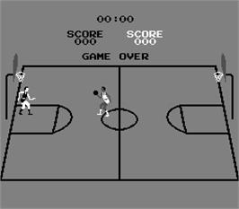 Title screen of Basketball on the Arcade.