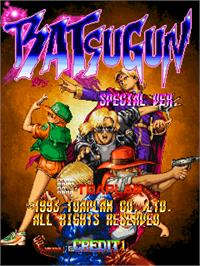Title screen of Batsugun - Special Version on the Arcade.