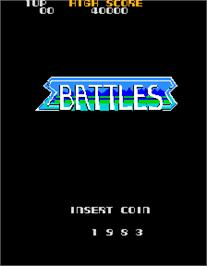 Title screen of Battles on the Arcade.