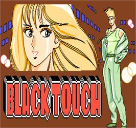 Title screen of Black Touch on the Arcade.