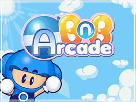 Title screen of BnB Arcade on the Arcade.